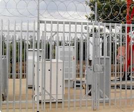 Telcom Satation Security Fence System