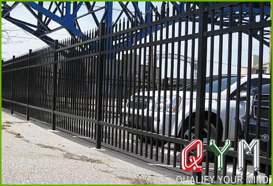Parking lot fence