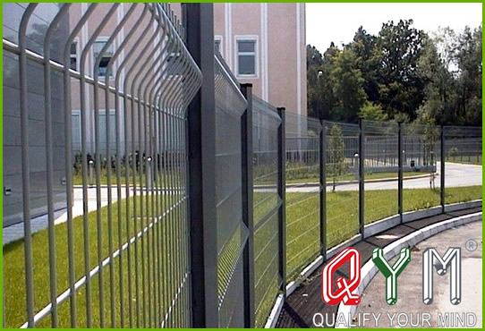 Residential courtyard fence
