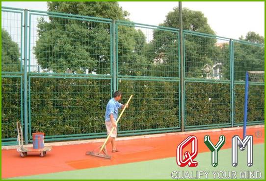 Sports stadium fence