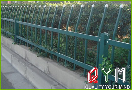 Green belt fence
