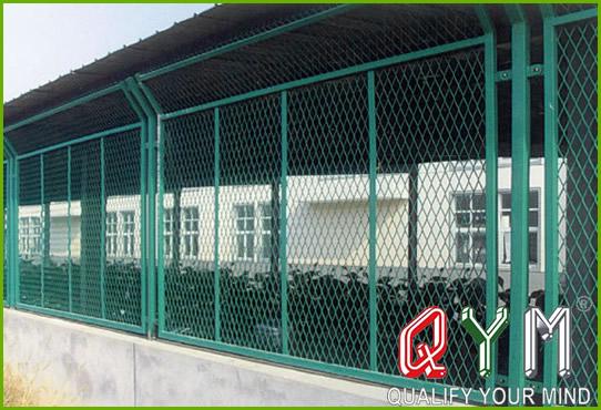 Anti-dazzling fence