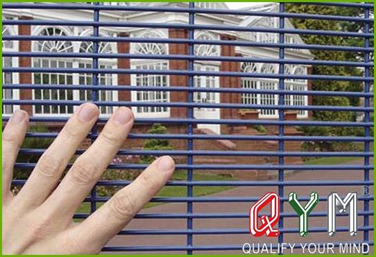 Security anti climb fence