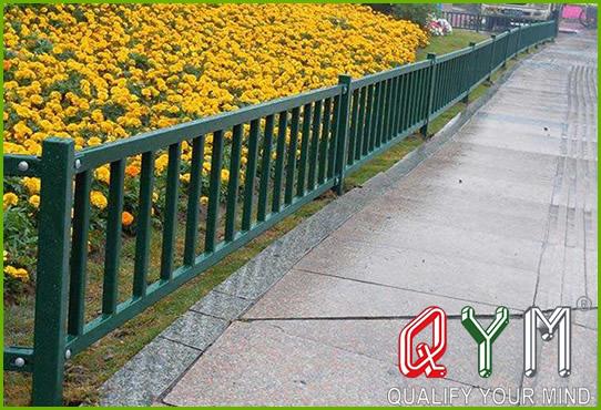 Green belt fence
