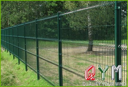 3D bending fence